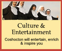 Culture & Entertainment in Coshocton Ohio