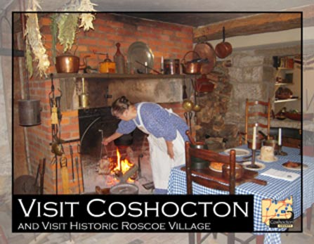 Roscoe Village Living History Tours - ohio attraction