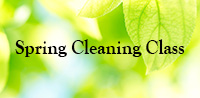 Spring Cleaning Class