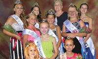 West Lafayette Ohio Homecoming Festival Queen Contest