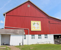 Coshocton Ohio quilt barn trail