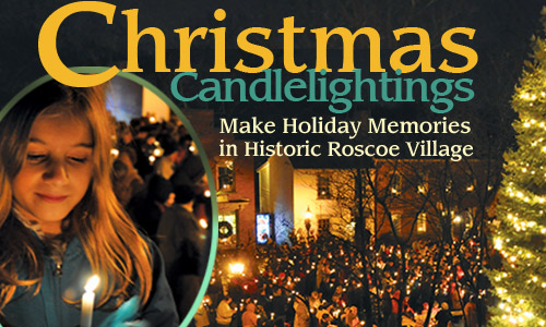 Christmas Candlelighting in Roscoe Village