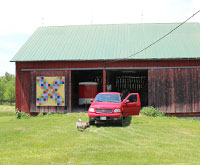 Garden Path Coshocton Ohio quilt barn trail