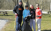 Lake Park Clean Up Day