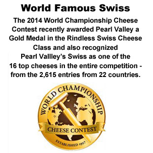 Pearl Valley Cheese World Champion Swiss