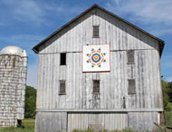 Ohio History Coshocton quilt barn trail