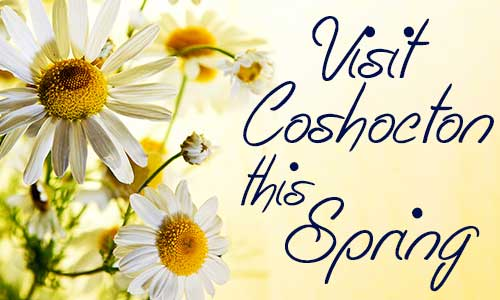 Visit Coshocton this Spring