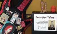 Teenage Talent Exhibit at the Johnson Humrickhouse Museum