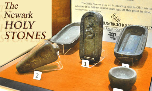 Newark Holy Stones at the JH Museum in Coshocton Ohio